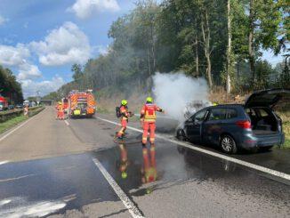 FW-Velbert: Paralleleinsätze auf den Autobahnen in Velbert