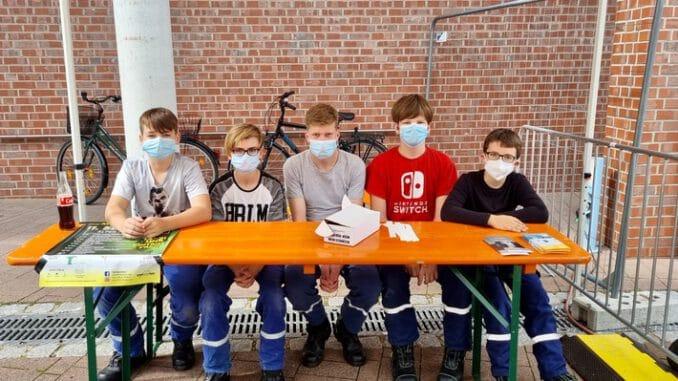 FW Alpen: Jugendfeuerwehr Alpen unterstützt den Kultursommer NRW