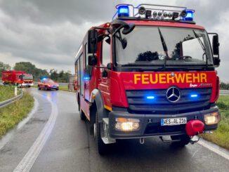 FW Alpen: Verkehrsunfall in der Anschlussstelle Sonsbeck