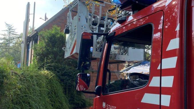 FW-BO: Nach Wespenstich Feuerwehreinsatz im Marderweg