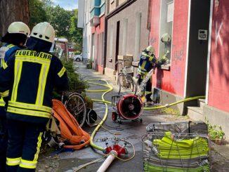 FW-BO: Zimmerbrand in Bochum Mitte