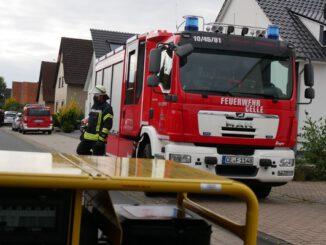 FW Celle: Feuer in einer Zwischendecke in Westercelle