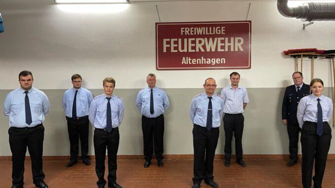 FW Celle: Jahreshauptversammlung der Ortsfeuerwehr Altenhagen