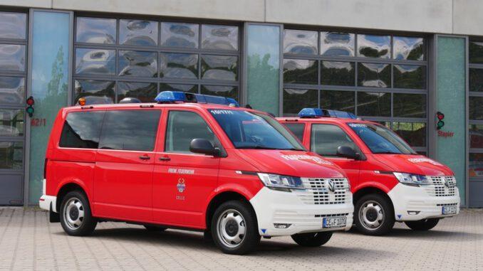 FW Celle: Sechs neue Fahrzeuge für die Feuerwehr Celle