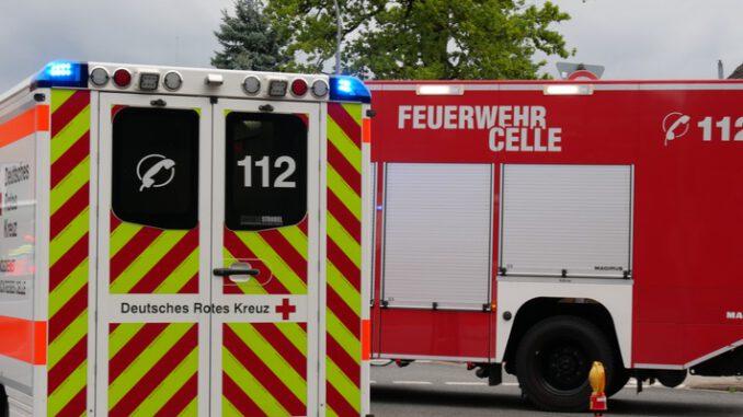 FW Celle: Verkehrsunfall