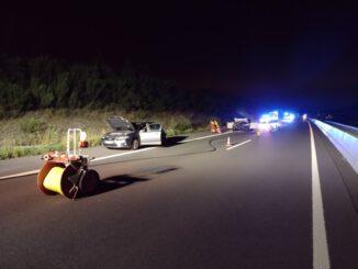 FW-Heiligenhaus: Zwei Verletzte nach Auffahrunfall auf der A 44 (Meldung 26/2021)