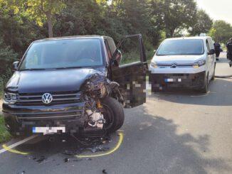 FW Helmstedt: Verkehrsunfall auf der B1