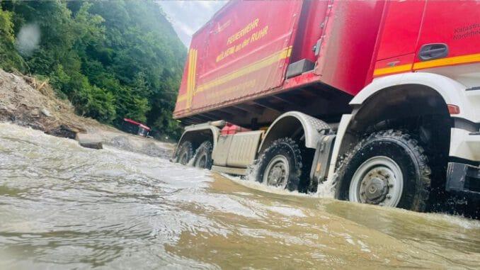 FW-MH: Feuerwehr Mülheim beendet nach fast acht Wochen den Hochwassereinsatz.