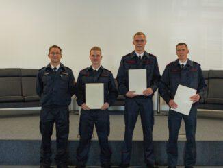 FW-MK: Neue Brandmeister für die Feuer- und Rettungswachen im Märkischen Kreis