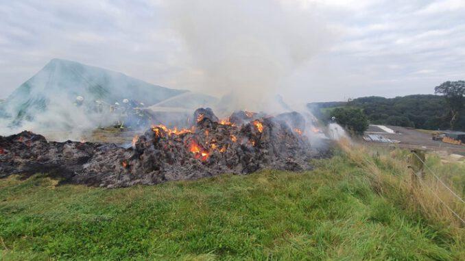 FW Overath: unklare Brandmeldung im Freien
