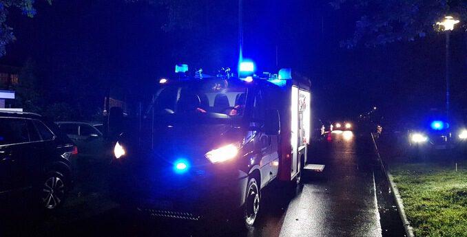 FW-ROW: Vollgelaufener Keller nach Starkregen in Jeersdorf