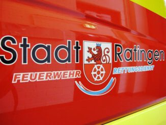FW Ratingen: Überörtliche Hilfe in Langenfeld