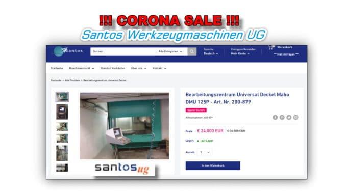 Santos Corona Sale Januar 2021 - Bearbeitungszentrum - Bild - 5