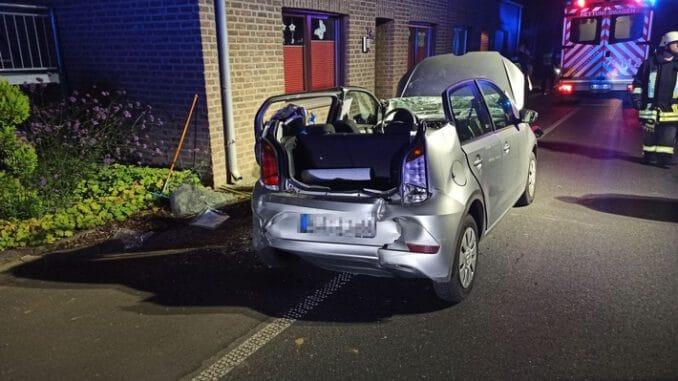 FF Goch: Patientenorientierte Rettung nach Verkehrsunfall