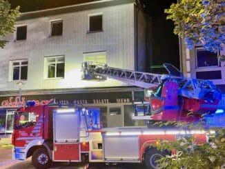FW-BO: Kellerbrand in Wohngebäude an der Universitätsstraße - 15 Menschen gerettet
