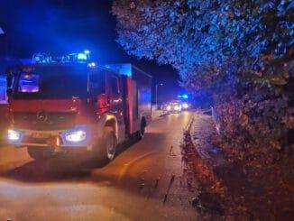 FW Bad Segeberg: Gasaustritt im Mehrfamilienhaus