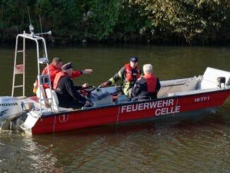 FW Celle: Bootsführerausbildung bei der Feuerwehr Celle