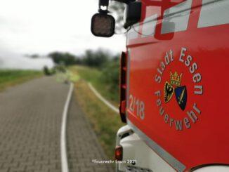 FW-E: Zimmerbrand in Essen-Altenessen-Süd - keine verletzten Personen