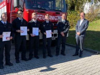 FW-EN: Feuerwehr ehrt Jubilare und übernimmt Nachwuchs in die Einsatzabteilung