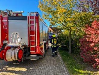 FW Flotwedel: Stark rauchende Feuerschale sorgt für Feuerwehreinsatz