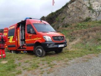 FW Frankenthal: Weinlese in Mayschoss - Unterstützung durch die Höhenretter der Feuerwehr Frankenthal