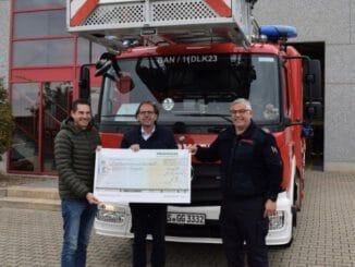 FW Gangelt: Provinzial-Geschäftsstelle Arno Reiners fördert die Freiwillige Feuerwehr in Gangelt