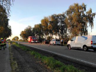 FW Gangelt: Verkehrsunfall auf der L410