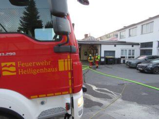 FW-Heiligenhaus: Verpuffung in einem Gewerbebetrieb (Meldung 30/2021)