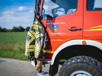 FW Hünxe: Unterstützung bei Evakuierung aufgrund Bombenfund