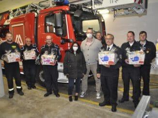 FW-KLE: Ein Dankeschön für die Freiwillige Feuerwehr Bedburg-Hau
