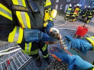 FW-KLE: Gebräudebrand am Steenpad in Kellen