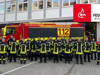 FW Konstanz: Grundausbildung 2021