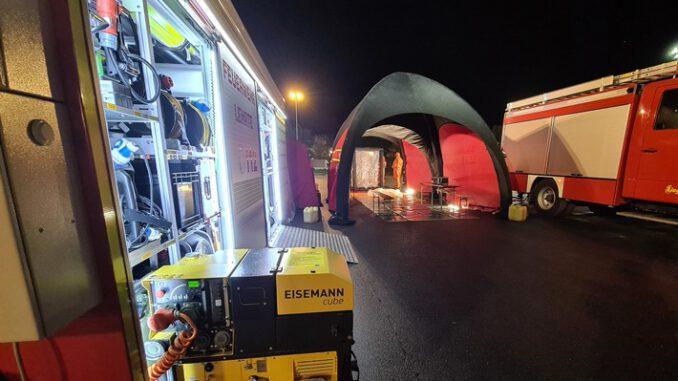 FW Lehrte: Feuerlöscher verursacht ABC Einsatz