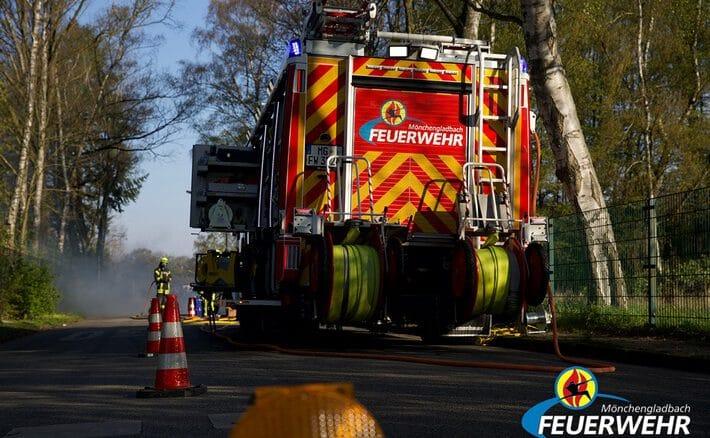 FW-MG: Verkehrsunfall mit zwei Verletzten
