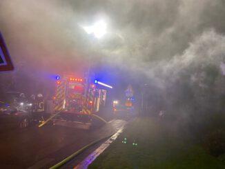 FW-MH: Kellerbrand auf der Straße Lindenhof