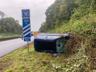FW-MH: Schwerer Verkehrsunfall auf der A 40