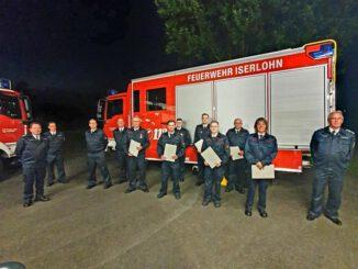 FW-MK: Dienstbesprechung der Löschgruppe Sümmern