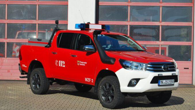 FW-MK: Neue Wechselmodule für die beiden Mehrzweckfahrzeuge