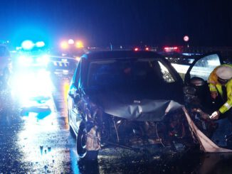 FW-MK: Schwerer Verkehrsunfall auf der Autobahn A46
