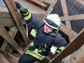 FW-OE: zweite Rhein-Weser-Turm-Firefighter Challenge erfolgreich durchgeführt.