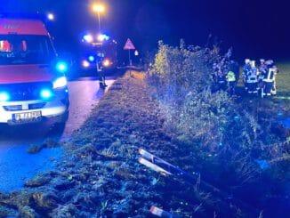 FW-PB: Zwei Verletzte nach Verkehrsunfall