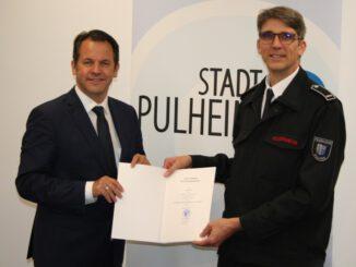 FW Pulheim: Neuer Leiter der Feuerwehr Pulheim ernannt