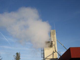 FW-ROW: Unklare Rauchentwicklung in der Trocknungsanlage