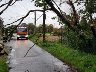 FW Xanten: Stürmische Tage verschonen Xanten weitgehend